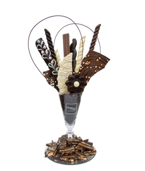 Bouquet de chocolat fin - DouceSoeur - Chocolaterie Montréal